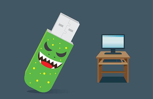 Eliminar virus USB