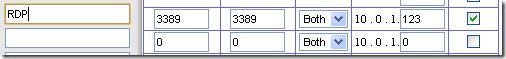 setup remote desktop router