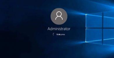 Iniciar sesión como administrador