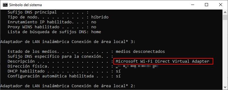 Microsoft Wi-Fi Direct Virtual Adapter