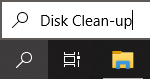 disk clean up