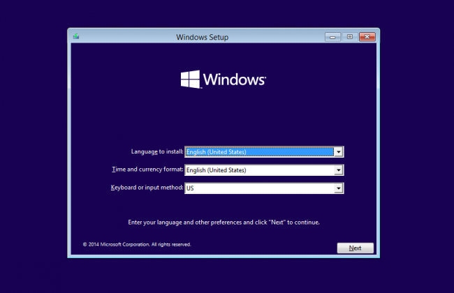 installing Windows 10 using UBS