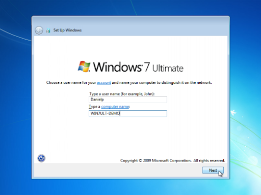 windows 7 ultimate installation guide