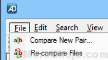 AptDiff comparación de archivos