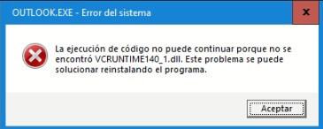 error vcruntime140_1.dll