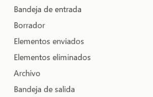 carpeta en espanol